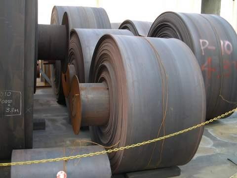 Equipment telematics: Used conveyor belt