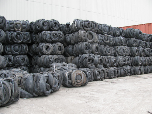 scrap tyre in bales sell10731. Black Bedroom Furniture Sets. Home Design Ideas