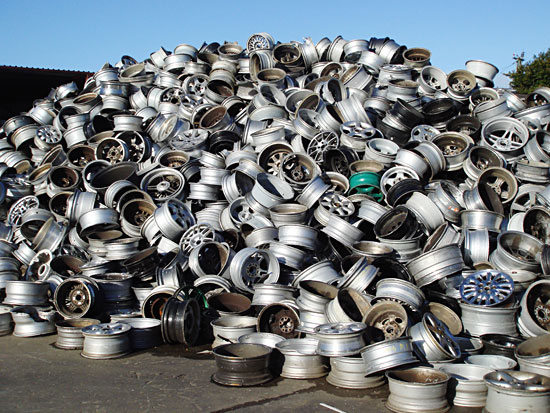 Aluminum Wheels SCRAP