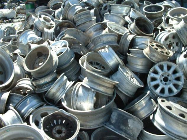 Aluminum Alloy Car Wheel Scrap, 12-18 inches