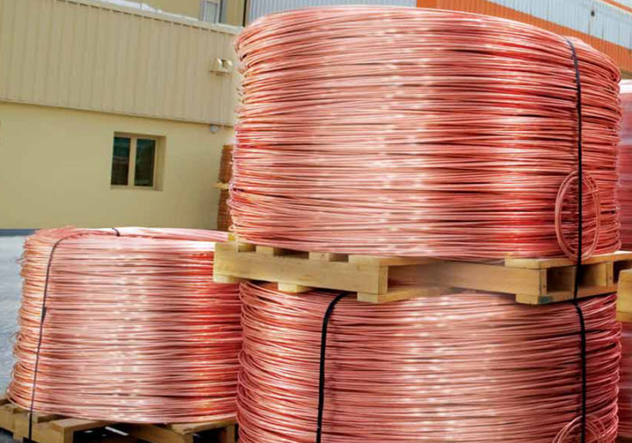 Copper Wire Rod 8mm 99 9 High Voltage Cable At Usd 4000