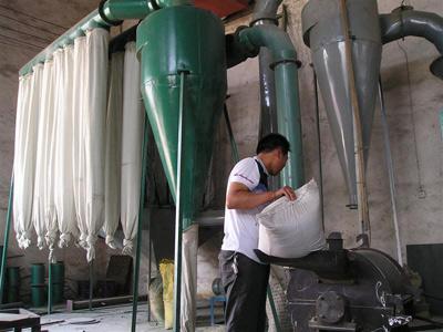 Wood powder machine working principle,advantages,application:
