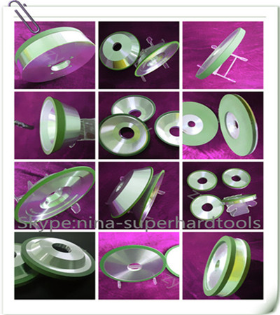 Resin bond diamond grinding wheels for sharpening pcd cbn carbide etc
